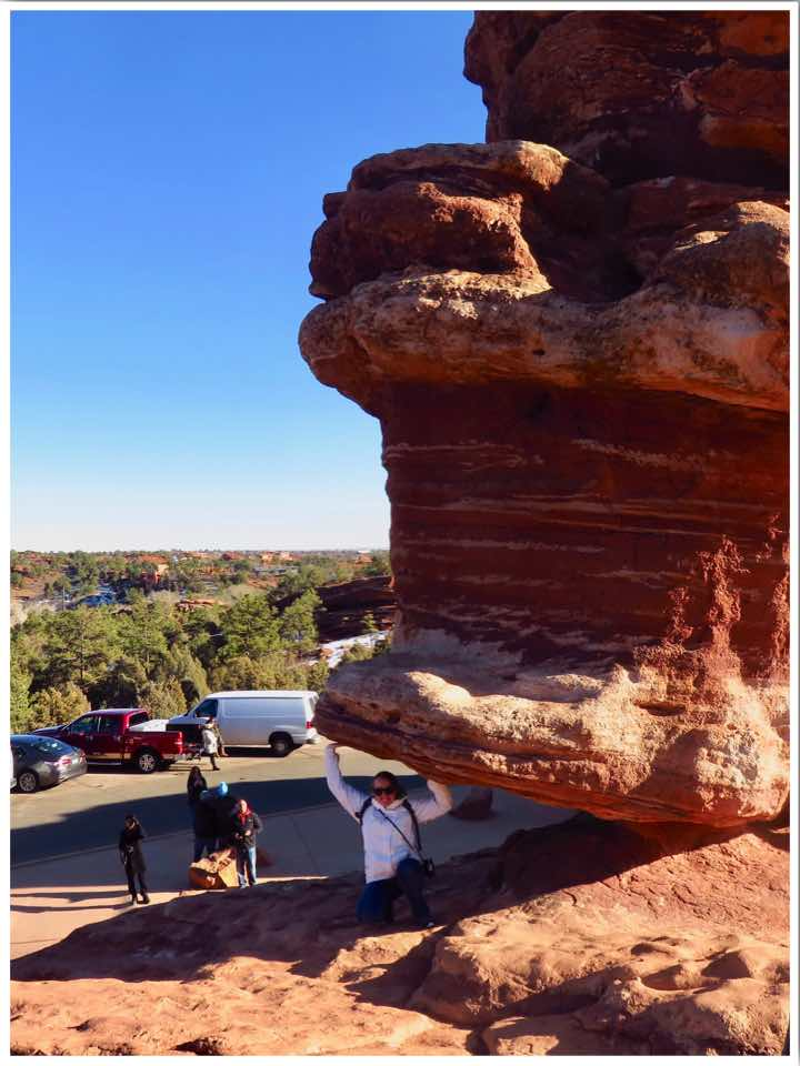 Garden of the Gods Balanced Rock Colorado USA