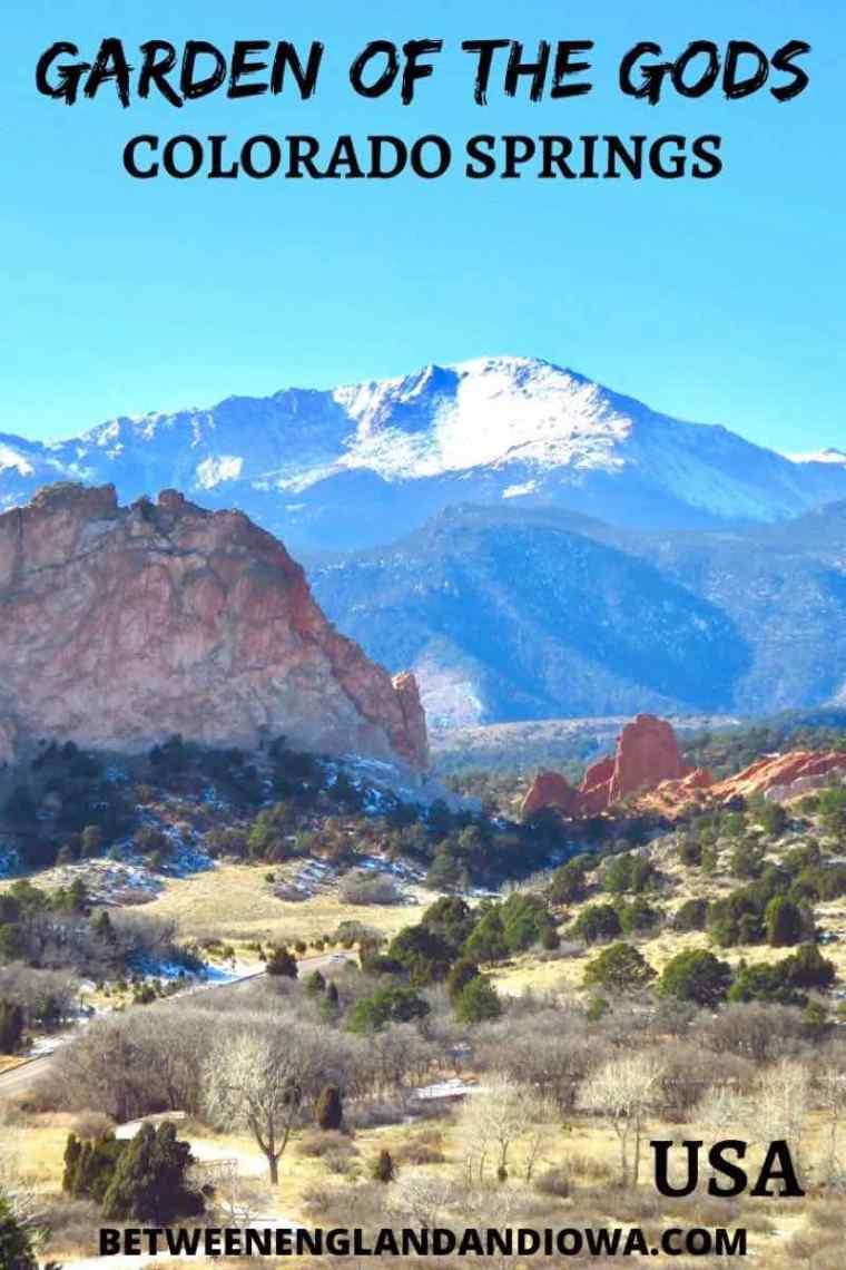 Garden of the Gods Colorado Springs, Colorado USA