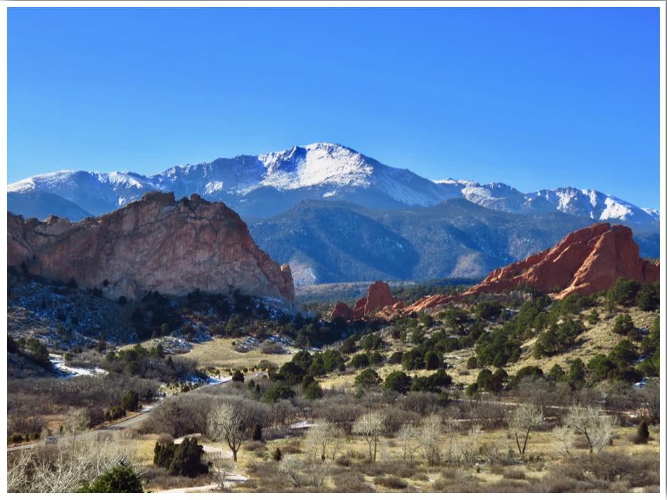 Garden of the Gods Colorado USA