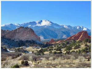 Garden of the Gods Colorado USA