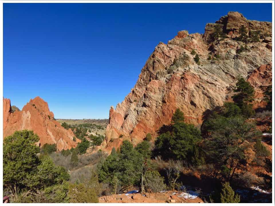Hiking Garden of the Gods Upper Loop Trail