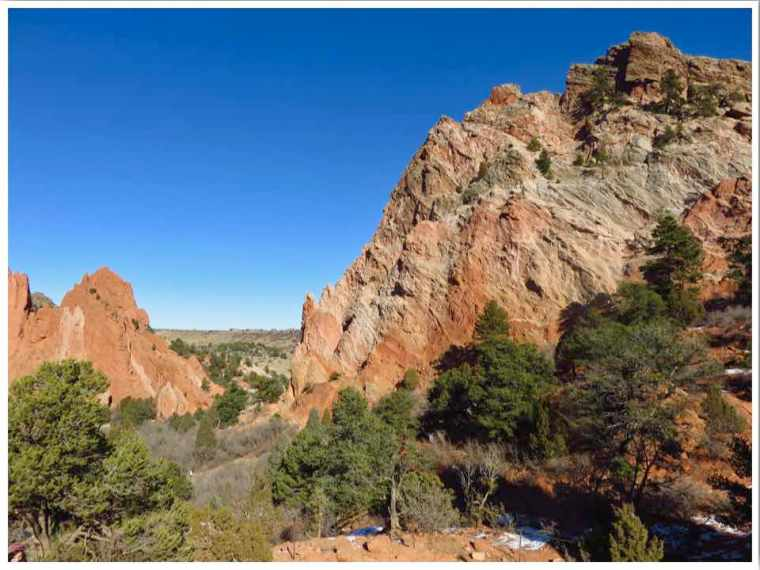 Hiking Garden of the Gods Upper Loop Trail
