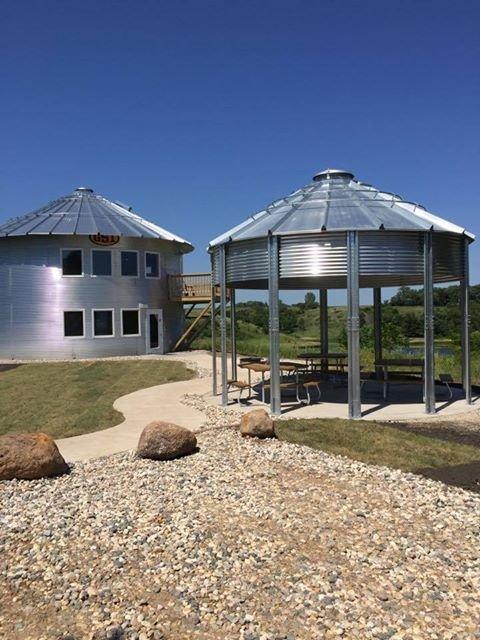 Grain Bin Cabin Iowa: Photo Credit Iowa Tourism Office