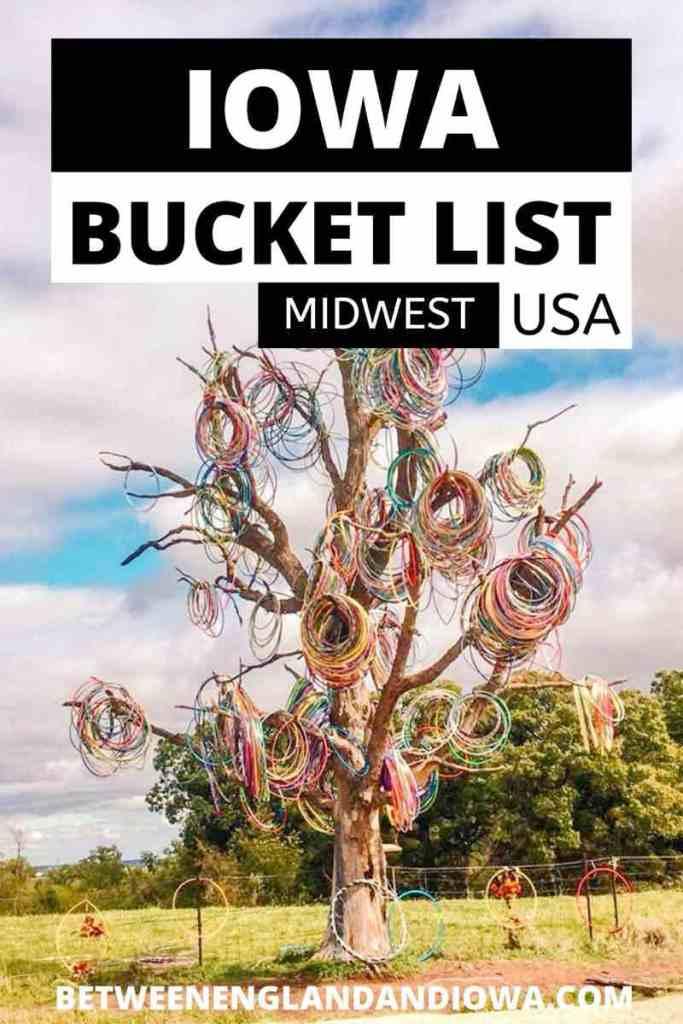 Iowa Bucket List Ideas
