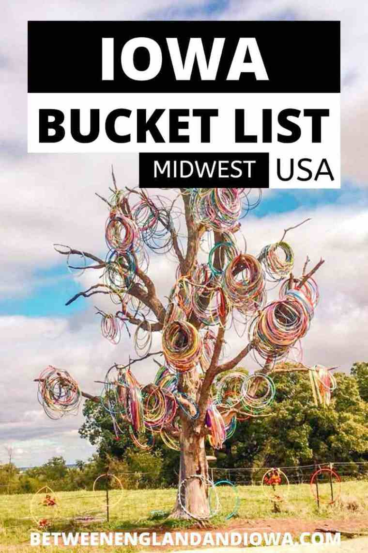 Iowa Bucket List