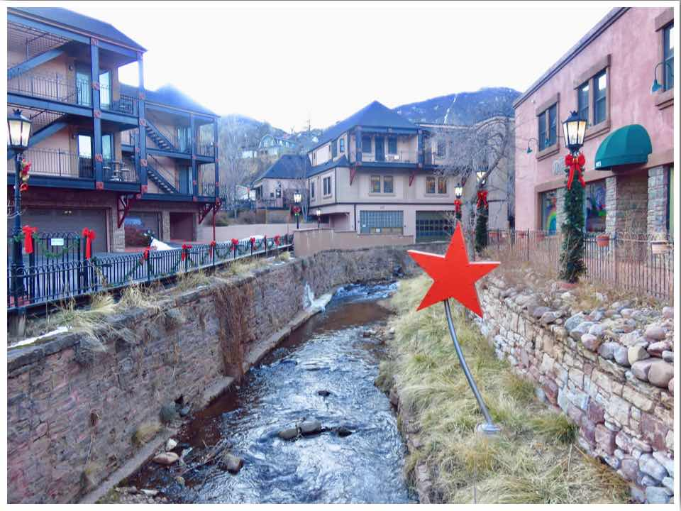 Downtown Manitou Springs Colorado