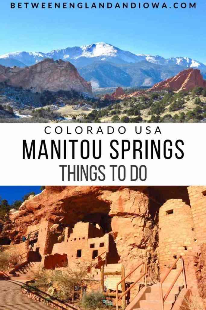 Things to do in Manitou Springs Colorado USA