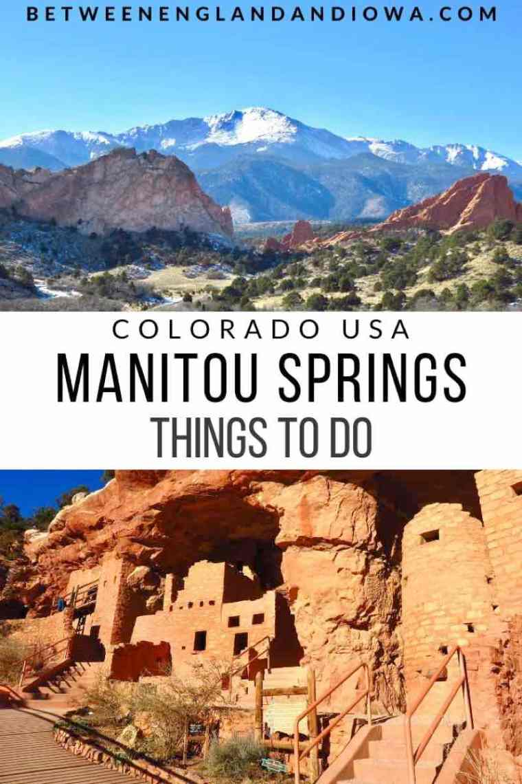 Things to do in Manitou Springs Colorado USA