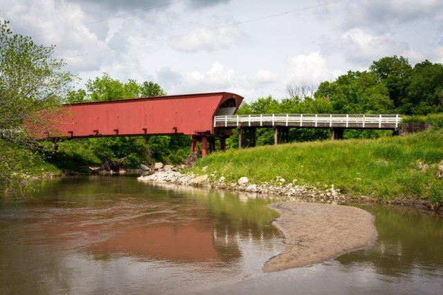 Winterset Bridges of Madison County: Photo Credit Iowa Tourism Office