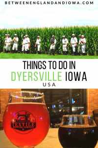Things to do in Dyersville Iowa USA