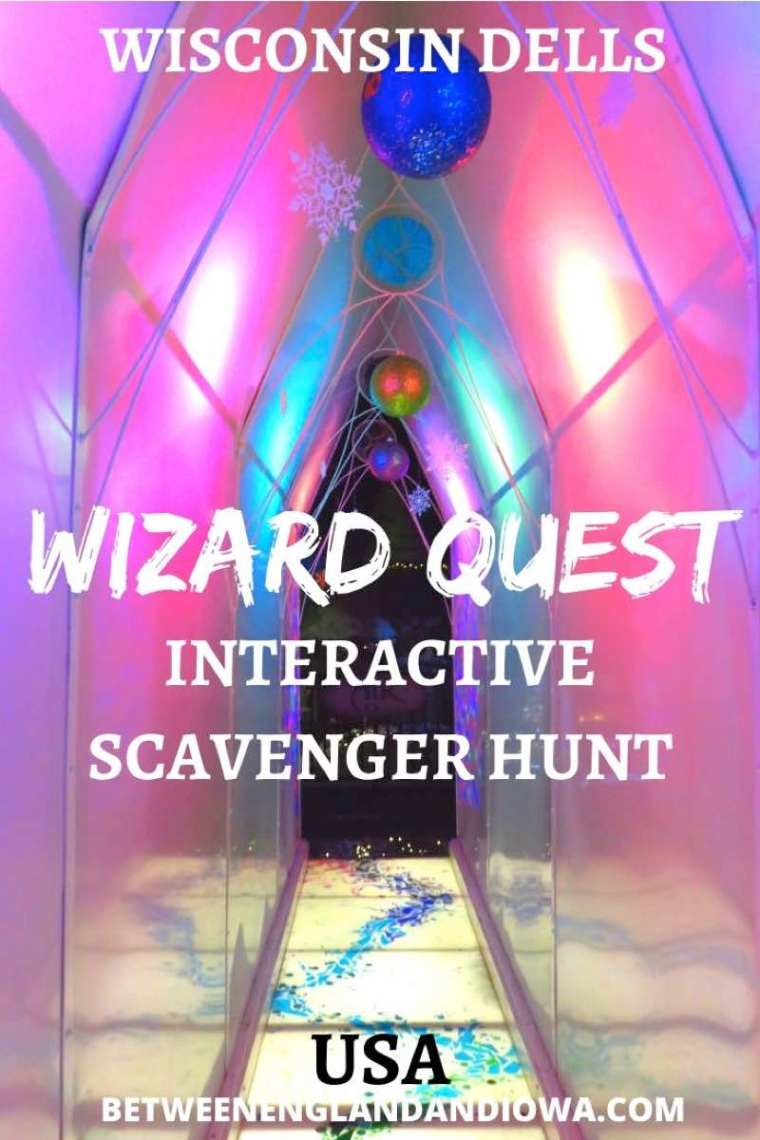 Wizard Quest Interactive Scavenger Hunt in the Wisconsin Dells USA