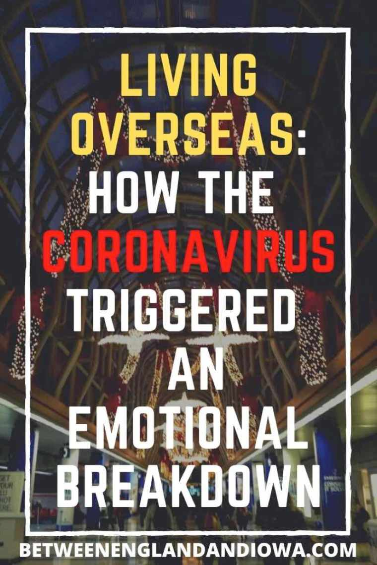 Coronavirus Emotional Breakdown