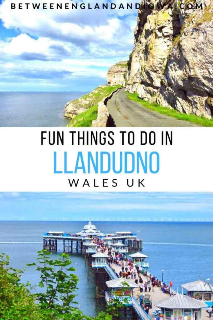 Things to do in Llandudno North Wales