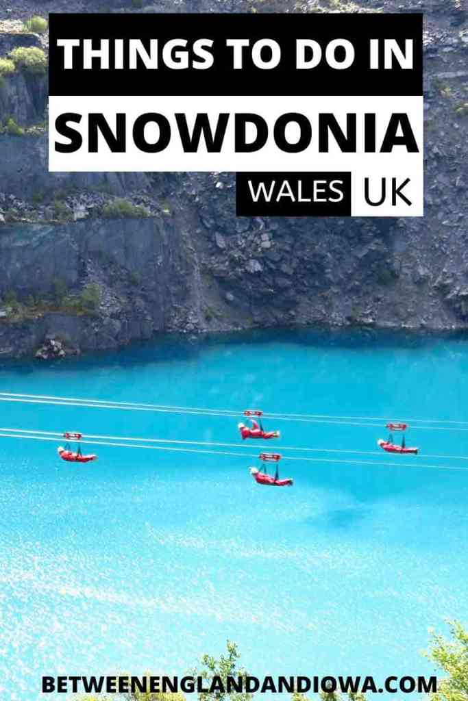 Things to do in Snowdonia Wales UK