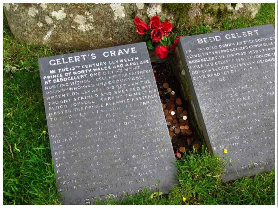 Gelert's Grave in Beddgelert North Wales