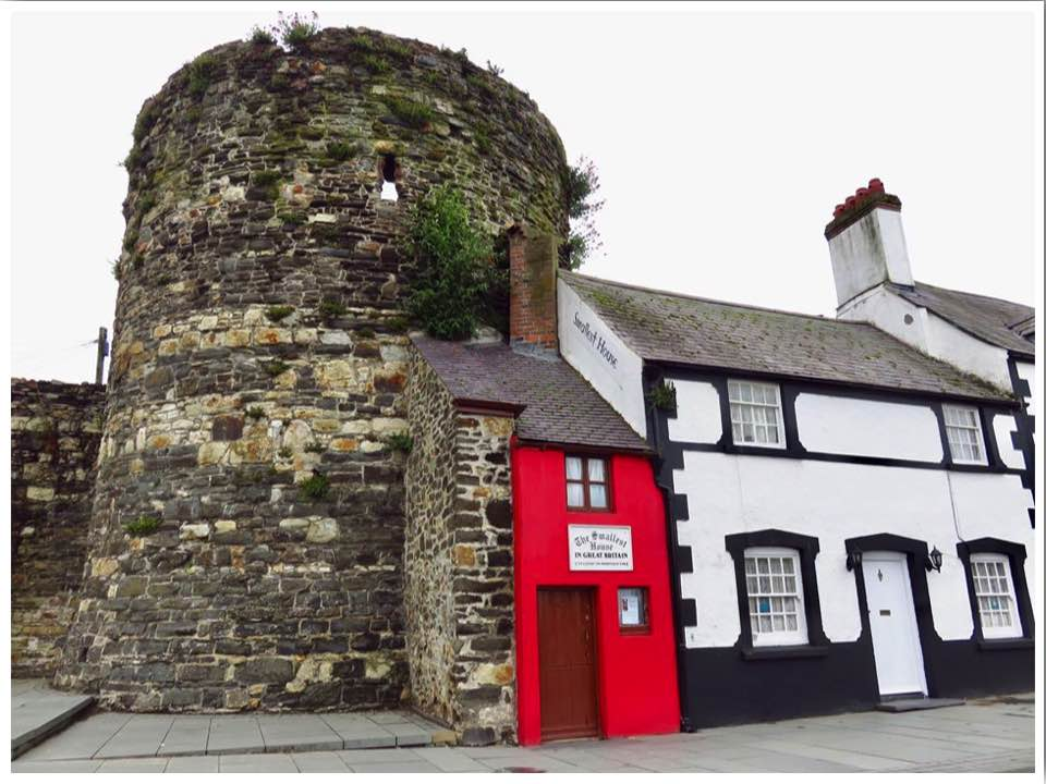 The Smallest House in Great Britain, Conwy North Wales
