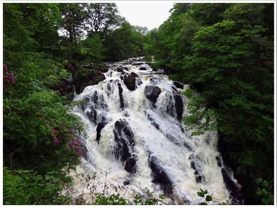 Swallow Falls Betws-y-coed North Wales
