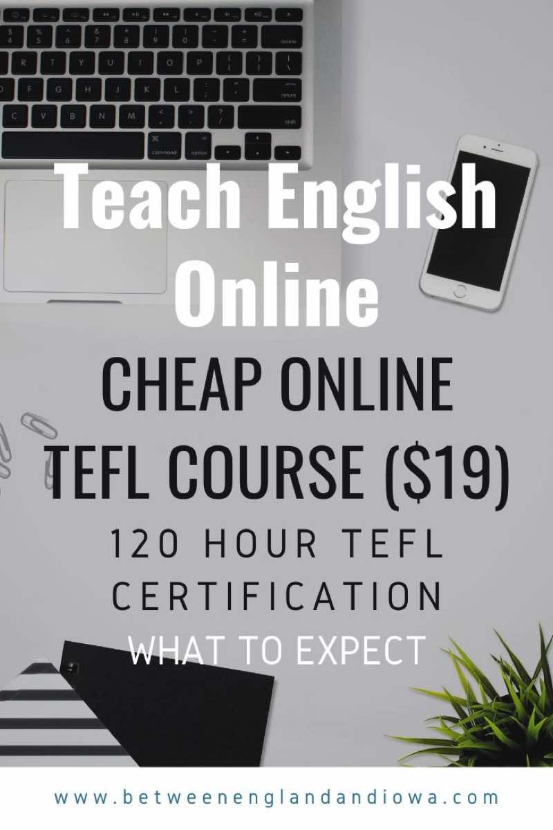 Cheap online TEFL course 120 hour TEFL Certification