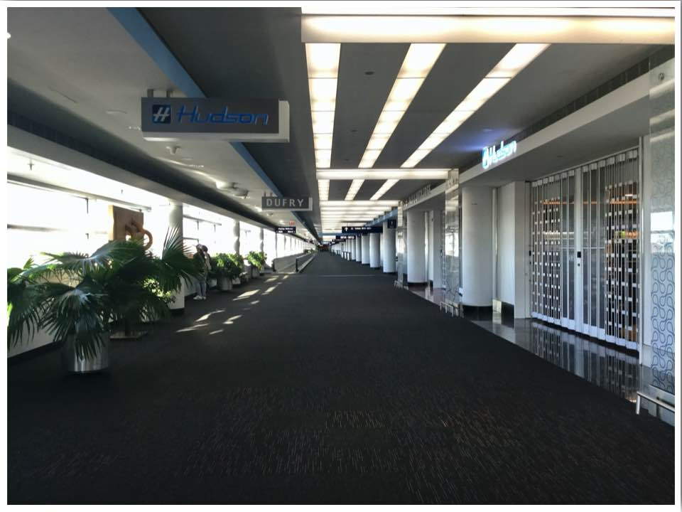 June 2020 Chicago ORD International Terminal 5