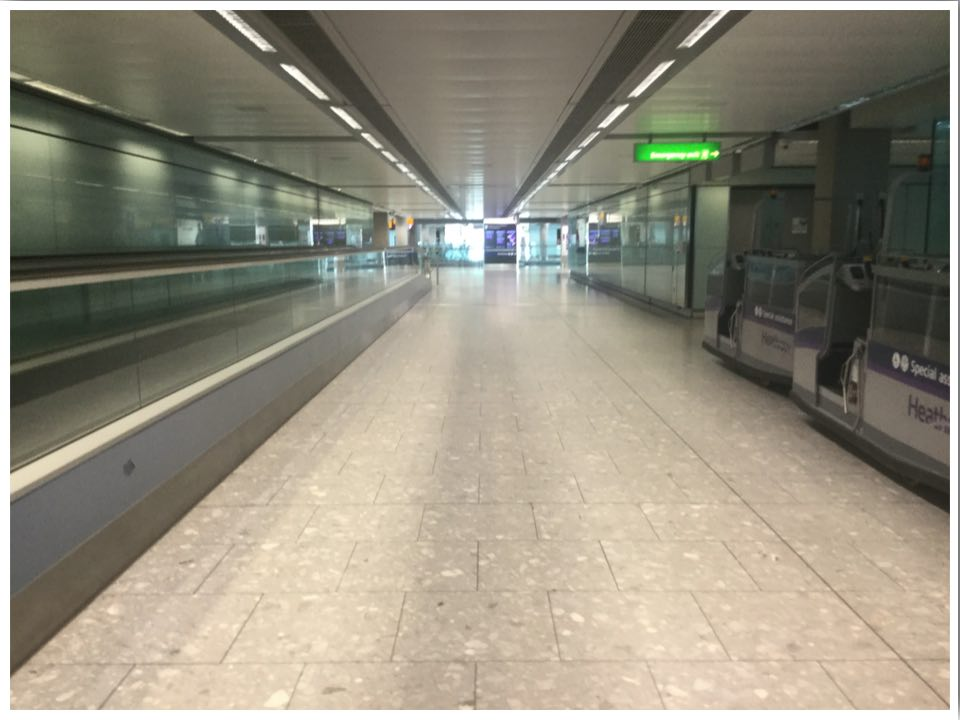London Heathrow T5 Arrivals June 2020