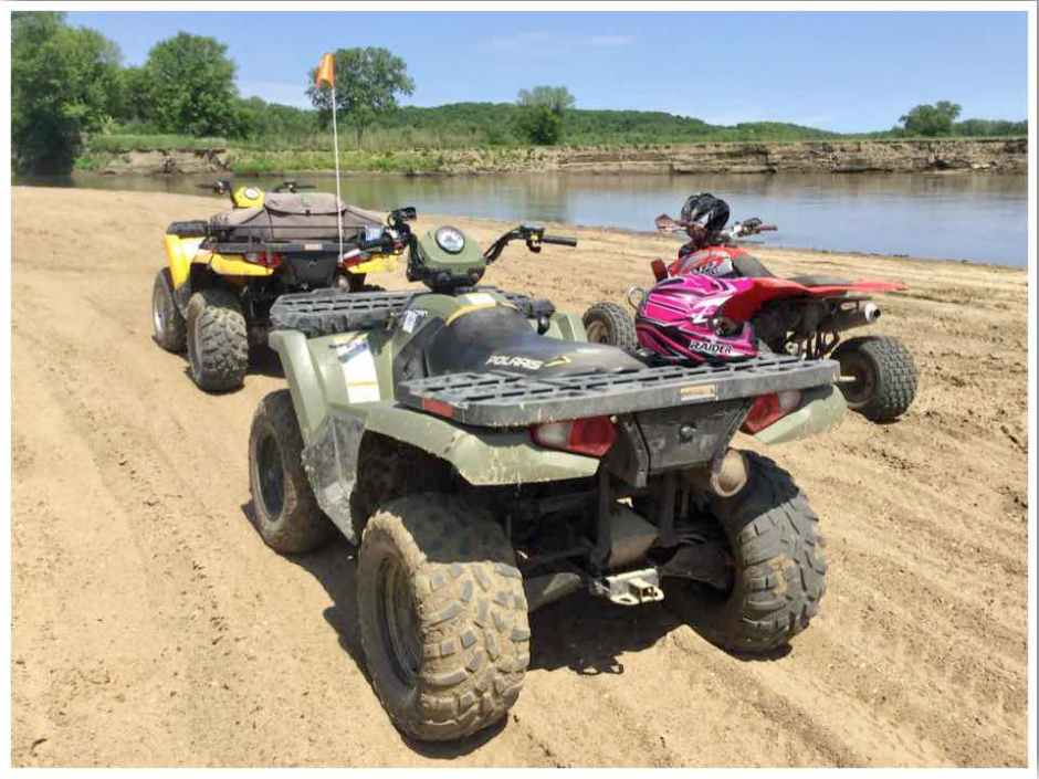 ATV Trails in Iowa: River Ridge ATV Trails