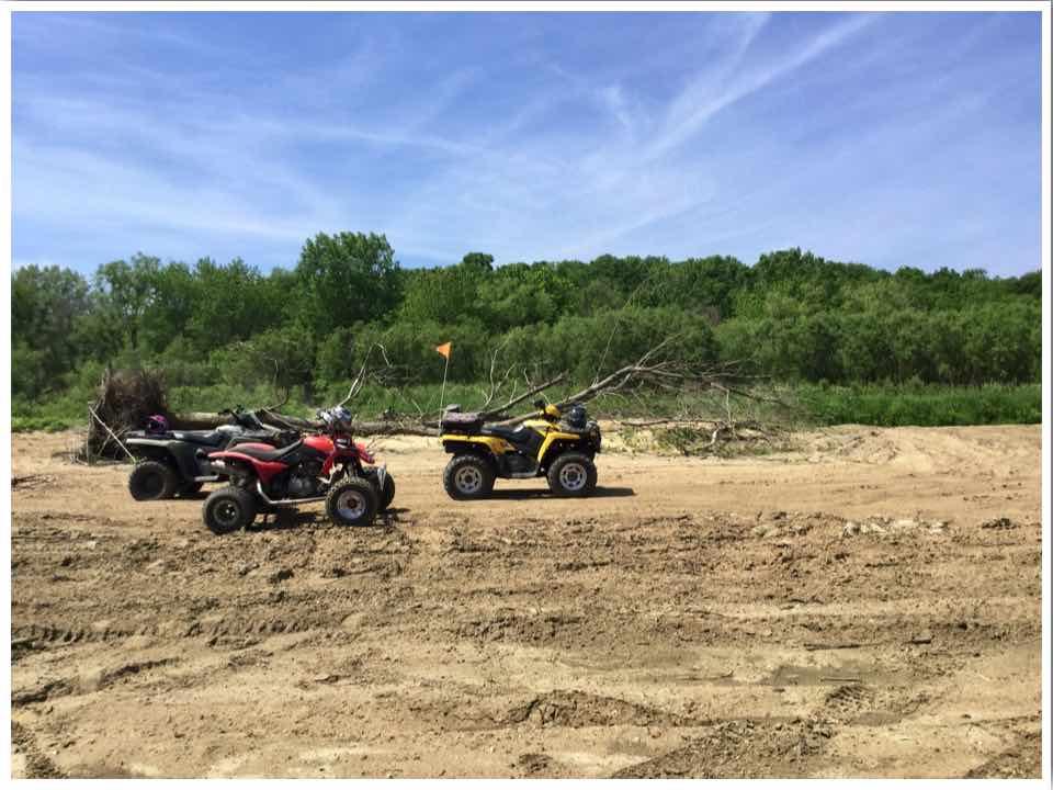 River Ridge ATV Trails in Iowa USA