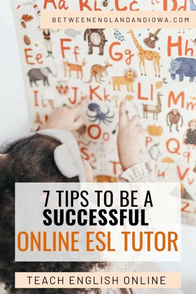 7 Tips on how to be a successful online ESL tutor