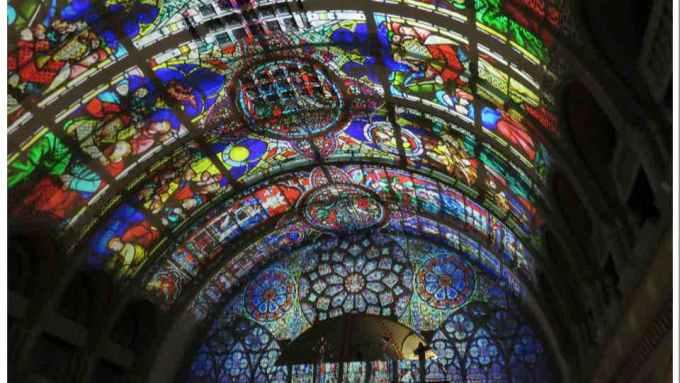 Union Station Grand Hall Light Show St Louis Missouri