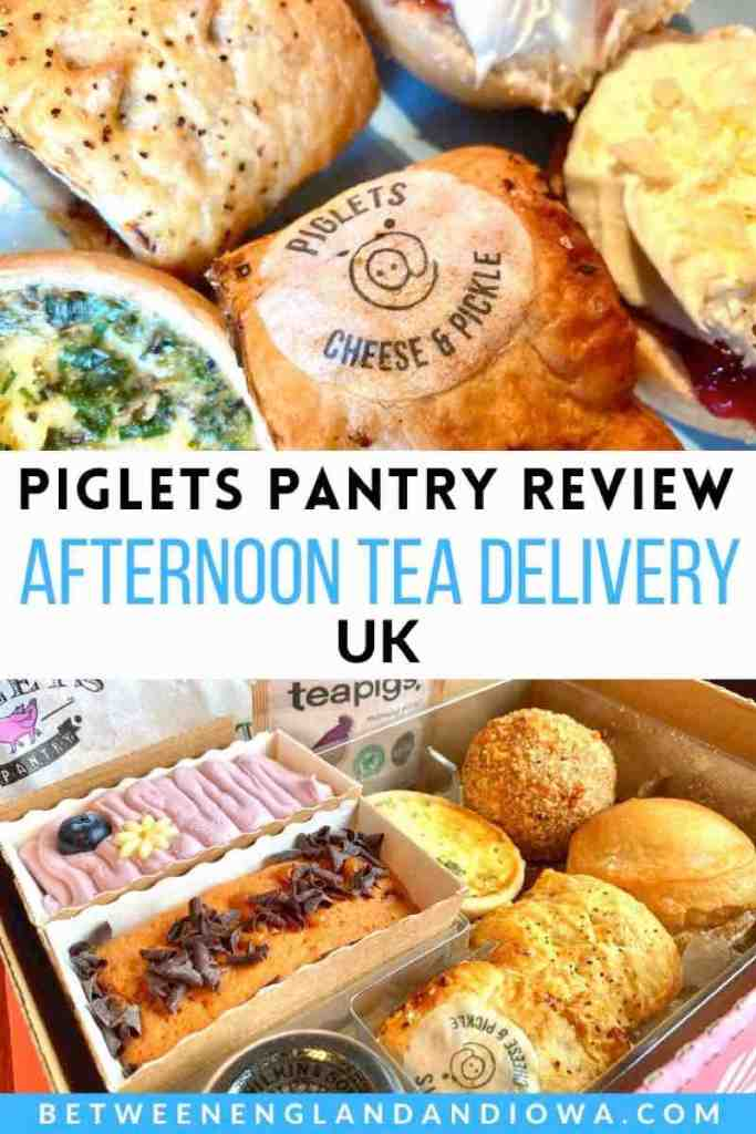 Piglets Pantry Afternoon Tea Delivery in the UK
