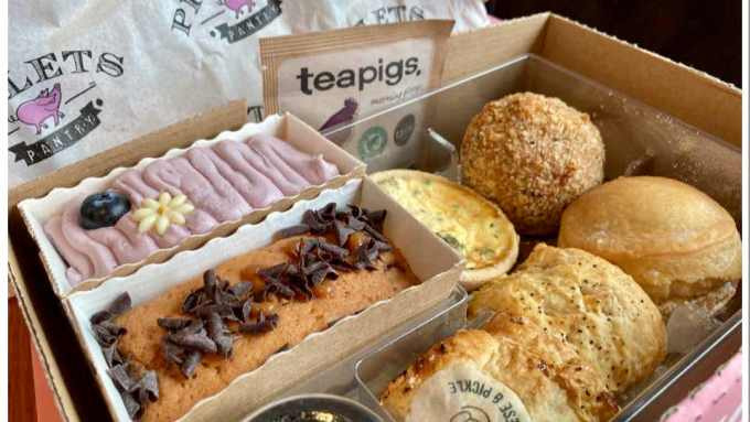 Piglets Pantry Afternoon Tea For One
