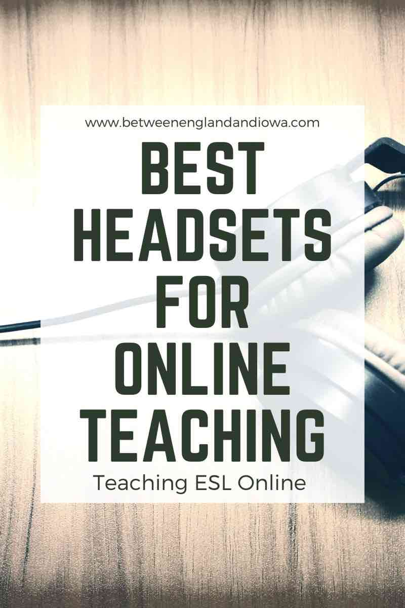 Best Headsets For Online Teaching